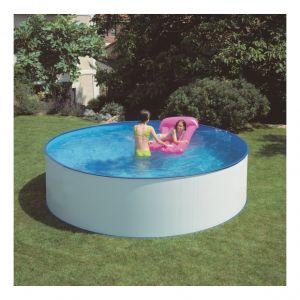 Gre Kit piscine hors-sol acier ronde lanzarote Ø300 x h90 cm