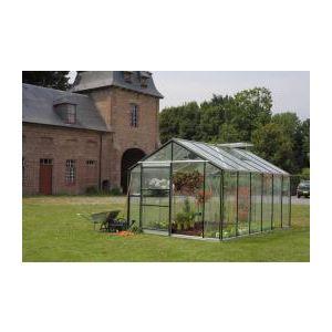 ACD 112840 - Serre Royal 24 en verre horticole 4 mm avec embase 7 m2