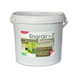 Agro Sens Engrais bambous et graminées UAB. Fertilisant organique, seau de 4 kg