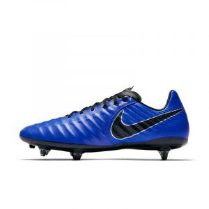 Nike Chaussure de footballà crampons pour terrain gras Tiempo Legend VII Pro - Bleu - Taille 45 - Unisex