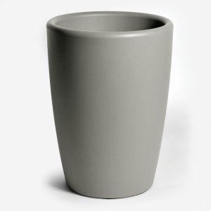 Mcollection Pot rond haut ESSENCE - 80 litres - taupe moucheté