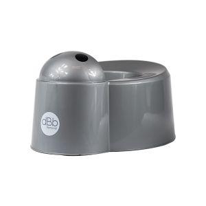 dBb Remond Pot bébé 2 en 1 - Pot et urinoir - Gris argenté