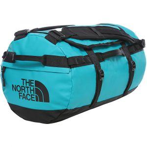 The North Face Base Camp Duffel Small - Sac de voyage taille 50 l, turquoise/noir