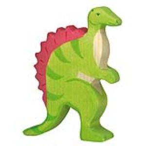 Holztiger Figurine dinosaure : Spinosaurus en bois