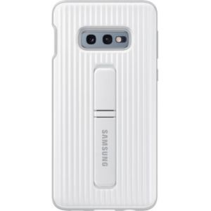 Samsung Coque S10E antichoc Fonction Stand blanc