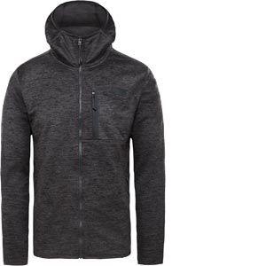 The North Face Canyonlands Hoodie - Veste polaire taille XL, noir