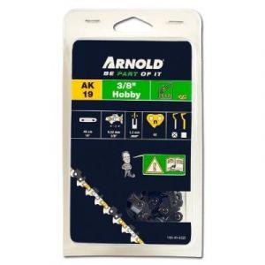 """Arnold Chaîne 3/8"""" LP, 1,3mm, 62 Entr., avec element de securité, demi rond - 1191-X1-0020"""