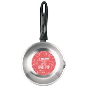 Image de Ibili 665216 - Casserole bombée en inox avec bec verseur (17 cm)