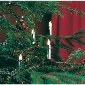 Konstsmide Guirlande de sapin 20 lampes givrées
