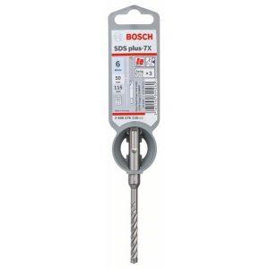 Bosch Forets SDS-plus-7X pour perforateur 6 x 50 x 115 mm - 2608576116