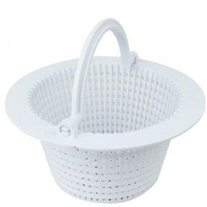 Linxor Panier rond pour skimmer de piscine hors sol - Diam 16 cm - Blanc