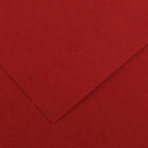 Canson 200040053 - Feuille Iris Vivaldi 50x65 120g/m², coloris grenat 16