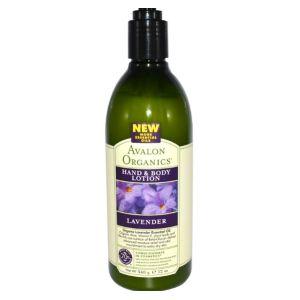 Avalon Organics Nourishing Lavender - Lotion mains et corps
