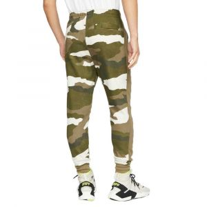 Nike Pantalon de jogging camouflage Sportswear Club Fleece pour Homme - Olive - Taille S - Male