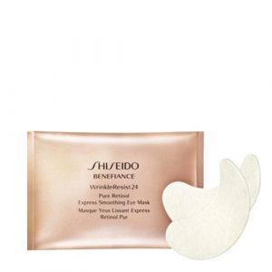 Shiseido Benefiance WrinkleResist24 - Masque yeux lissant express rétinol pur