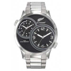 All Blacks 680351 - Montre pour homme avec bracelet en acier