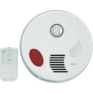 iiquu Sensor Alarm - Détecteur de mouvement sans fil pour plafond avec télécommande (912569-HSIQME1)