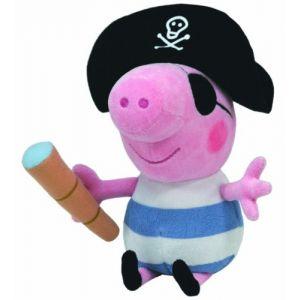 Ty Peluche Peppa Pig George Pirate 16 cm