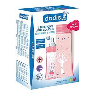 Dodie Coffret 2 biberons Initiation+ 330 ml