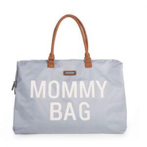 Childhome Sac À Langer Mommy Bag Gris Et Blanc - Child Wheels