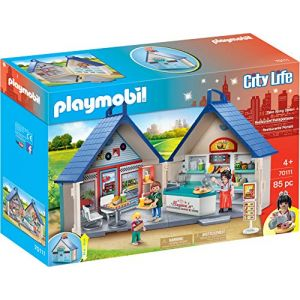 Playmobil 70111 - City Life / Restaurant americain Diner transportable