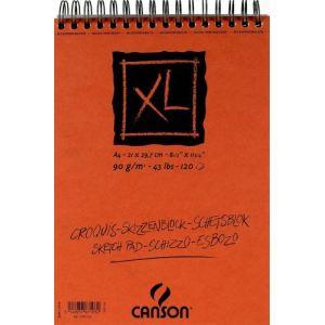 Canson 787103 - Bloc croquis XL à 120 feuilles 90 g (A4)