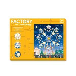 Djeco Factory E-paper 3 Tableaux à illuminer Là-haut