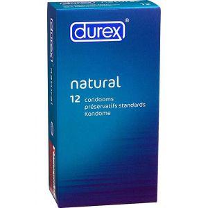 Durex Boîte de 12 préservatifs Natural