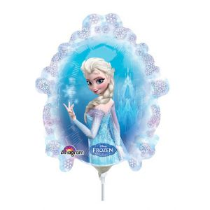 Mini ballon Reine des Neiges - double face