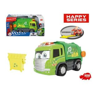 Dickie Toys Camion-poubelle Happy Scania