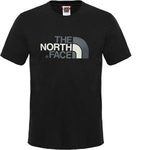 The North Face S/S Easy Tee - T-shirt taille XL, noir