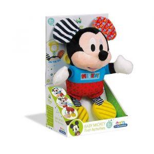 Clementoni Peluche première activité Baby Mickey