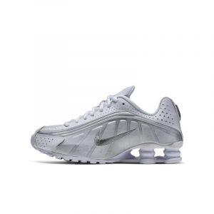 Nike Chaussure Shox R4 pour Enfant plus âgé - Blanc - Taille 35.5 - Unisex