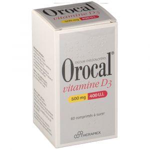 Image de theramex Orocal - Vitamine D3 (60 comprimés)