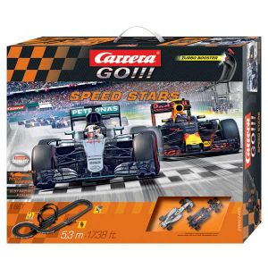 Carrera Toys Go!!! Speed Stars 62425 - Circuit pour voiture électrique