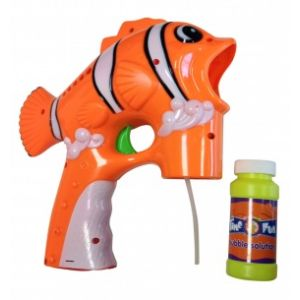 Pistolet à bulles Poisson clown