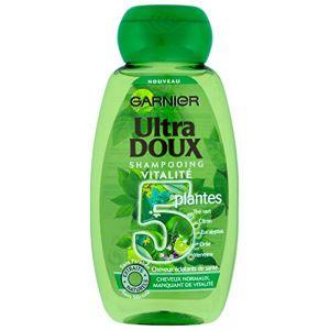 Garnier Ultra Doux - Shampoing détox thé vert & 5 plantes