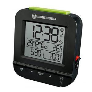 Bresser MyTime Easy RC Alarm Clock black