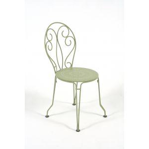 Chaise Montmartre couleur Tilleul
