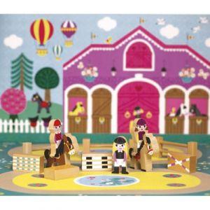 Janod Figurines Mini Story Centre équestre
