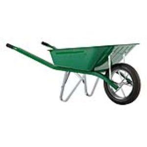 Haemmerlin 302313006 - Brouette Pro Select Bati peinte roue pleine 90 L