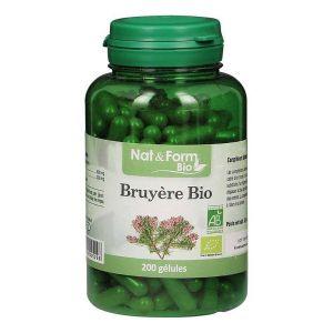Image de Nat & Form Bio Bruyère 200 gélules végétales