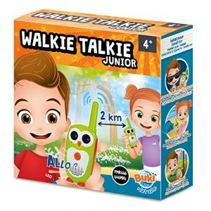 Buki France Talkie Walkie Junior - Portée 2 km