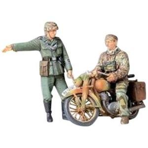 Tamiya 35241 - Maquette ordonnances Allemandes et moto
