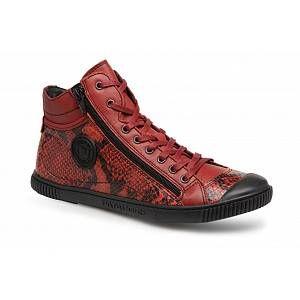 Pataugas Bono/S - Baskets Femme, Rouge