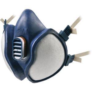3M Demi masque à filtres intégrés sans entretien série 4000 FFA1P2 R D