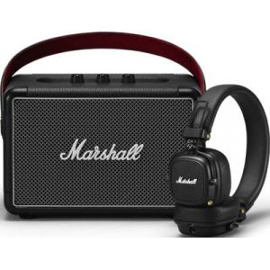 Marshall Enceinte Bluetooth Kilburn II + Casque Major III BT