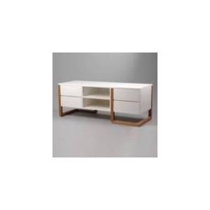 amadeus meuble tv bas esl v 4 tiroirs et 2 niches en bois comparer avec. Black Bedroom Furniture Sets. Home Design Ideas
