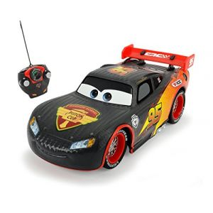 Dickie Toys RC Carbon Turbo Racer Lightning McQueen Cars 1:24