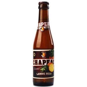 Brasserie de Troch Chapeau Exotic - Bière Blonde Aromatisée - 25 cl - 3,5 %